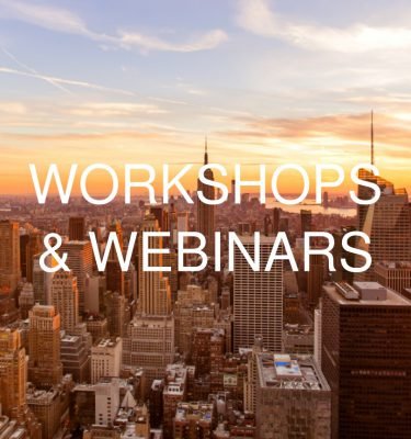 Workshops & Webinars